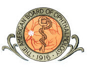 American board of Ophthalmology logo